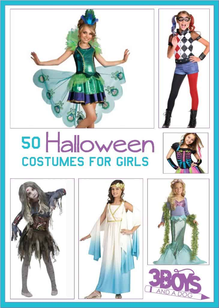 50 halloween costumes for girls