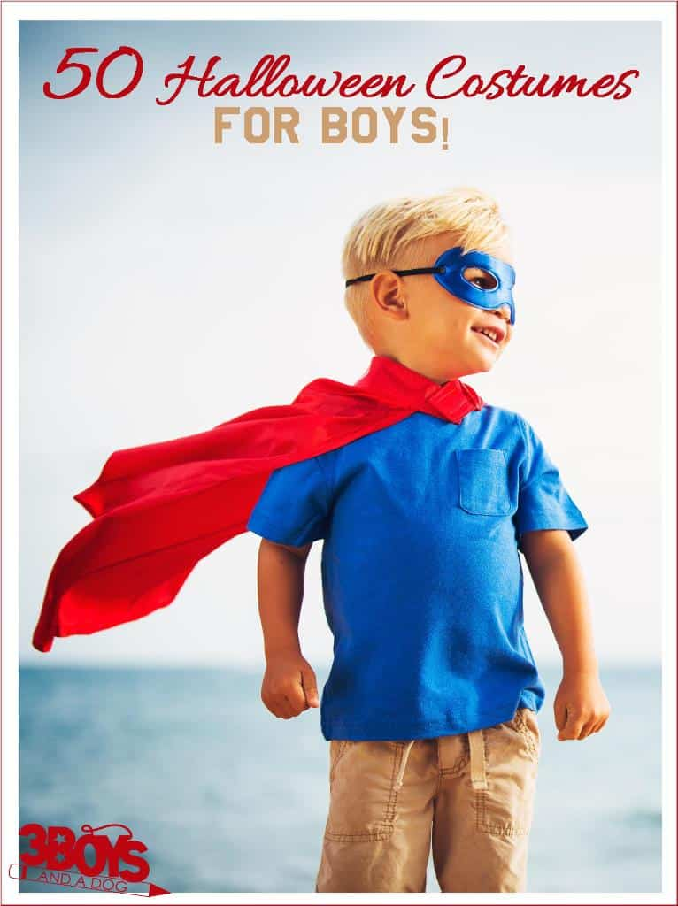 50 halloween or dress up costumes for boys of all ages
