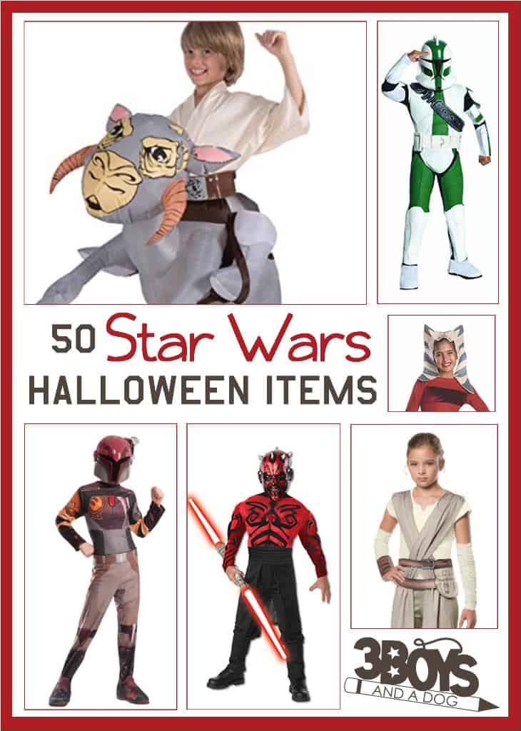 Halloween or Imaginative Play Star Wars Costumes for Children, Teens, and Infants