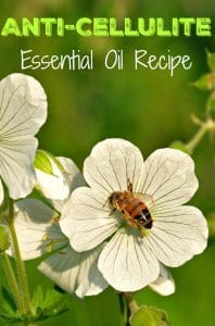 Looking for a natural way to get rid of cellulite? This anti cellulite essential oil recipe is designed to reduce the appearance of cellulite and boost circulation all at the same time.