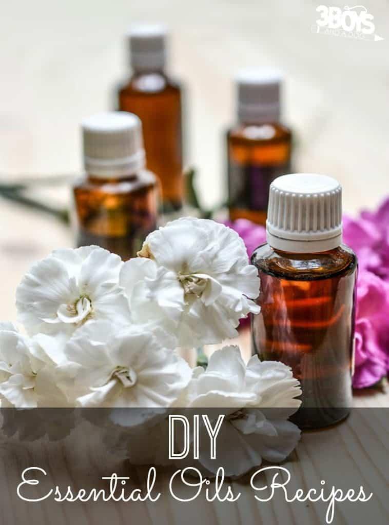 DIY Recipes Using Essential Oils