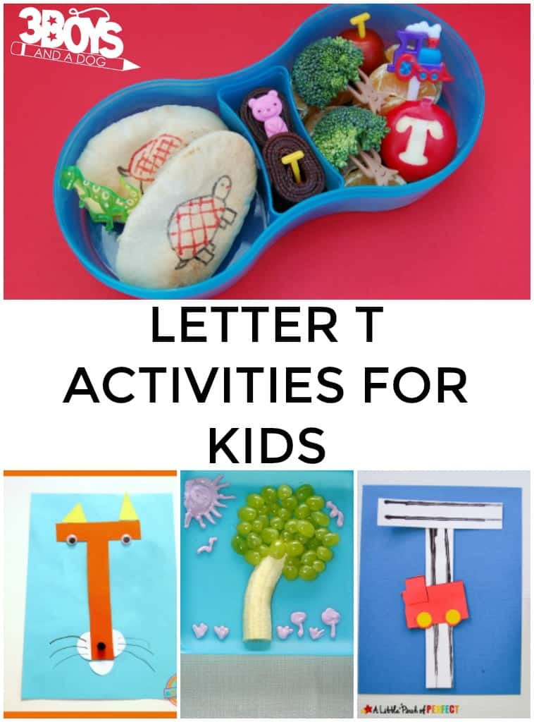 Fun Teaching Letter T Activities
