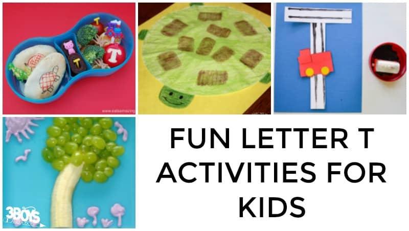 Fun Teaching Letter T Ideas
