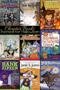Halloween Chapter Books for Children to practice reading