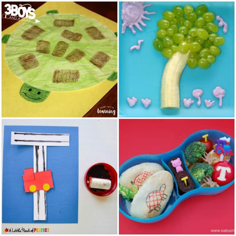 Letter T Activities for Kids