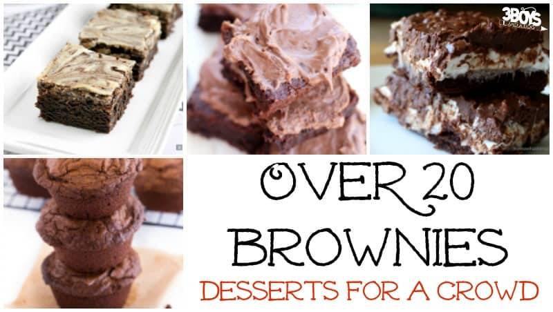 Over 20 Brownies for a Crowd
