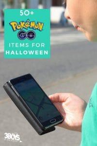 50 Pokemon Halloween Items