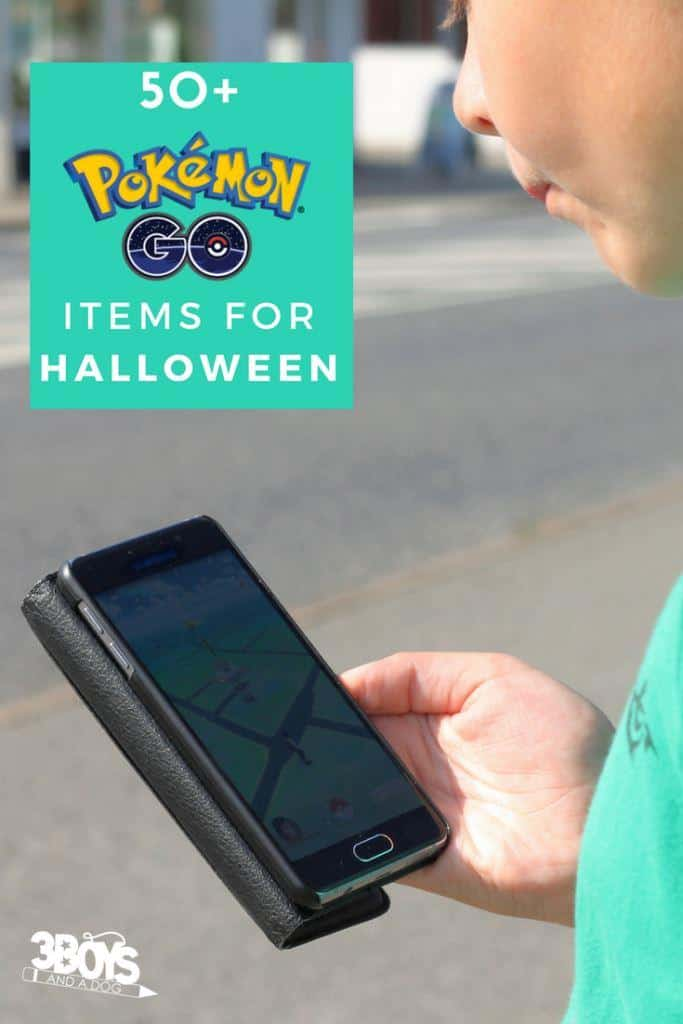 Over 50 Pokemon Go Items for Halloween