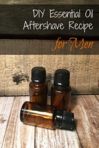 This easy DIY recipe for essential oil aftershave offers a fresh, clean, and woodsy scent that provides healing benefits along with a long-lasting scent that men will love.