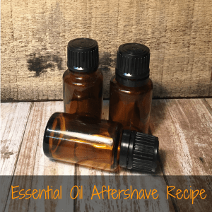 Easy DIY Recipe for Essential Oil Aftershave