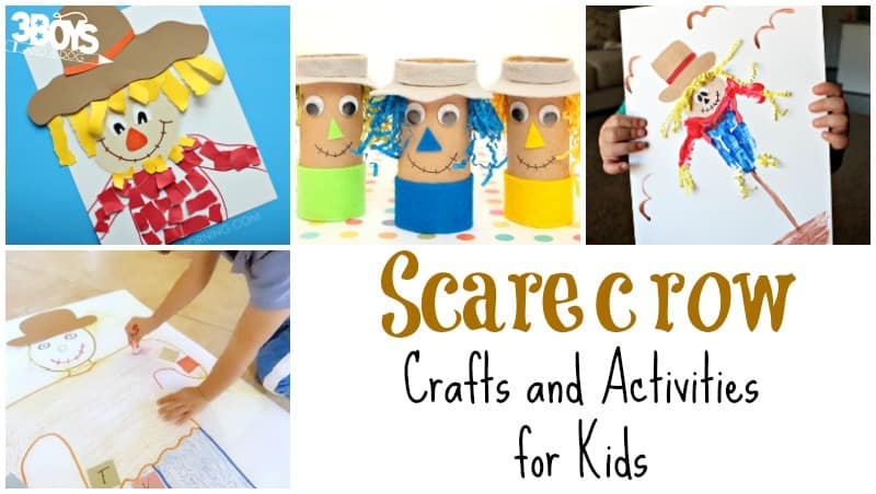 Scarecrow Crafts and Activities for Kids