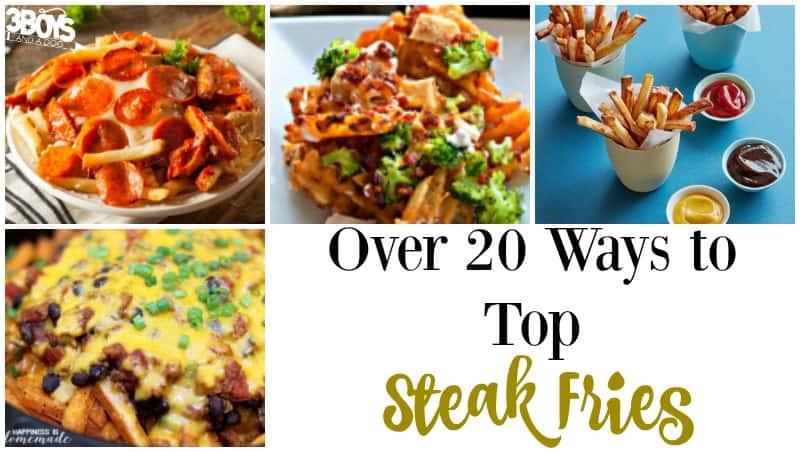 Ways to Top Steak Fries
