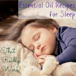 4 Effective Essential Oil Recipes for Sleep