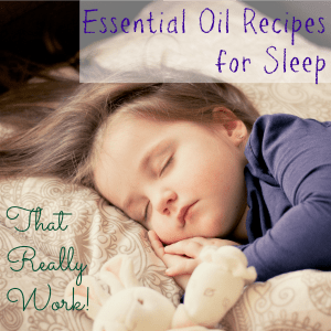 These four essential oil recipes for sleep address four common causes of sleepless nights and are designed to help you relax and sleep well all night long.
