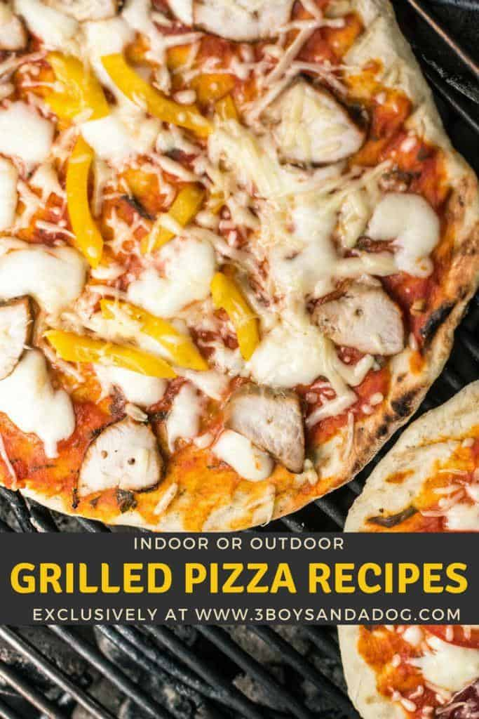 Over 25 grilled pizza recipes