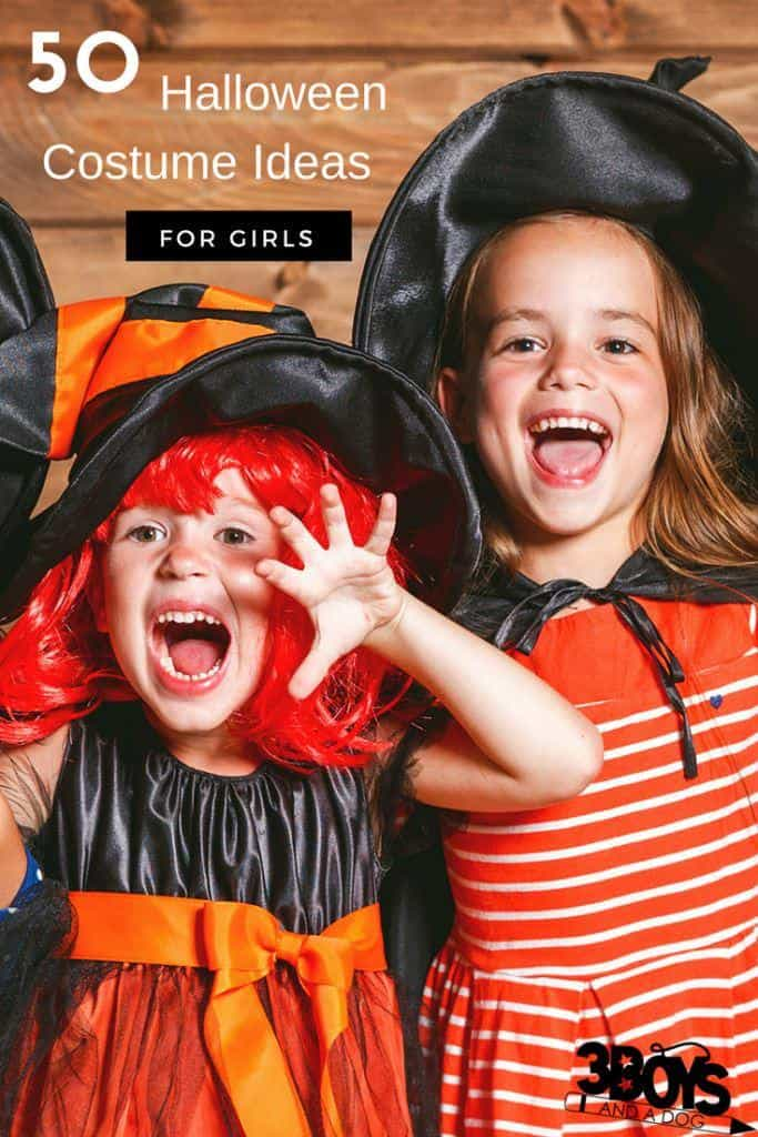 50 Girls Halloween Costumes – 3 Boys and a Dog