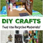 DIY Crafts That Use Recycled Materials