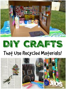 DIY Crafts Using Recycled Materials