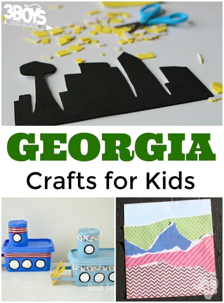 Georgia Crafts for Kids