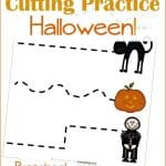 Halloween Printables: Cutting Practice