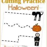 Halloween Printables: Cutting Practice
