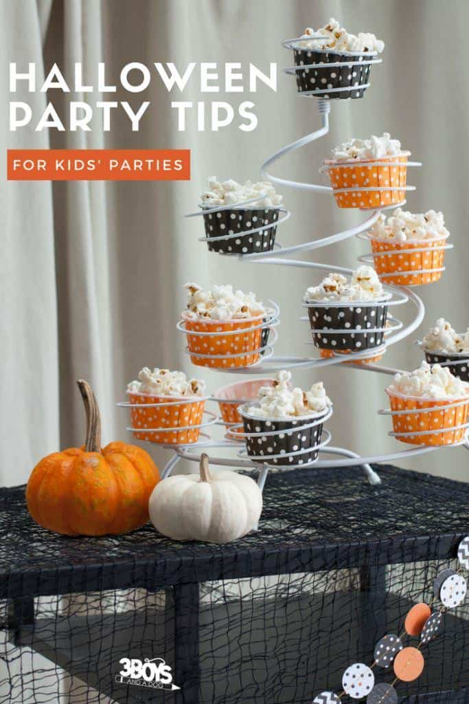 Halloween party tips and recipes for children