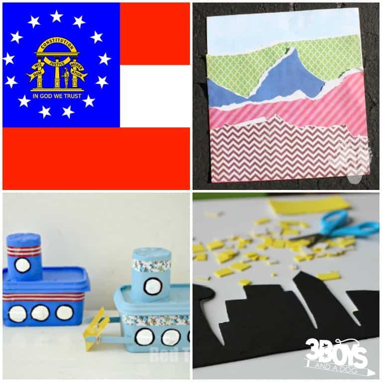 Simple State of Georgia Crafts