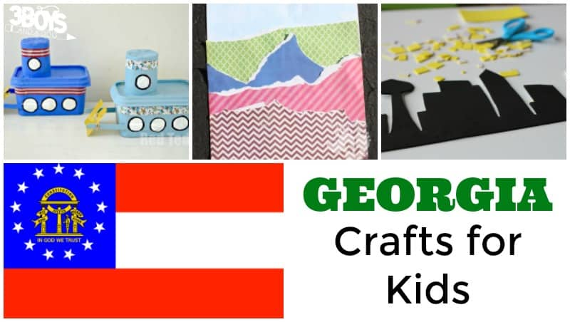 State of Georgia Crafts for Kids