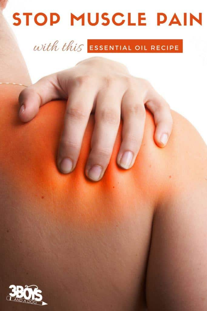 essential oil blends for sore muscles