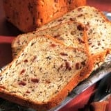Wild Rice and Cranberry Bread
