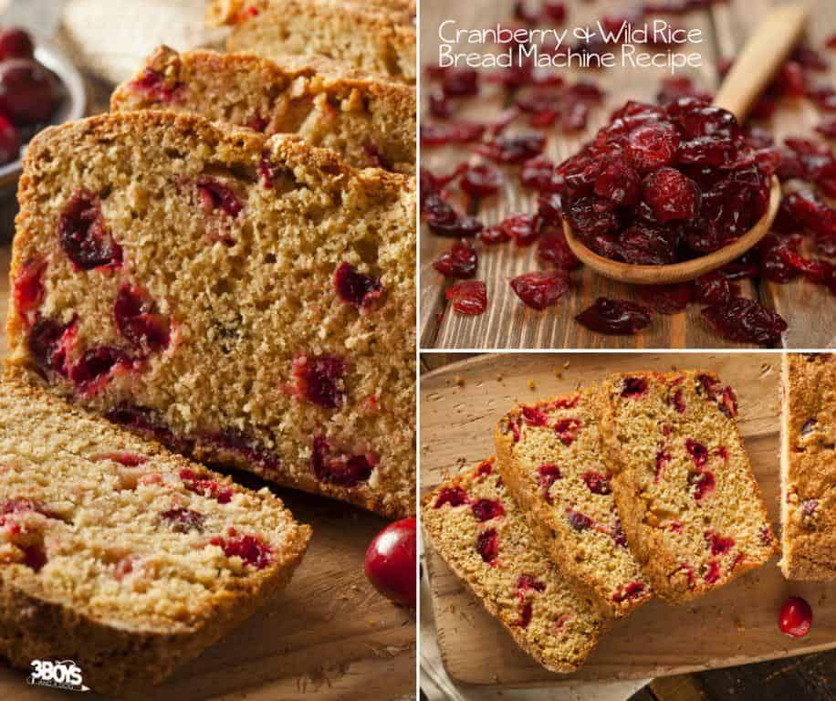 wild rice cranberry bread machine recipe