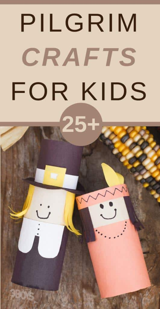 pilgrim crafts for toddlers