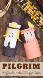 pilgrim crafts for preschoolers