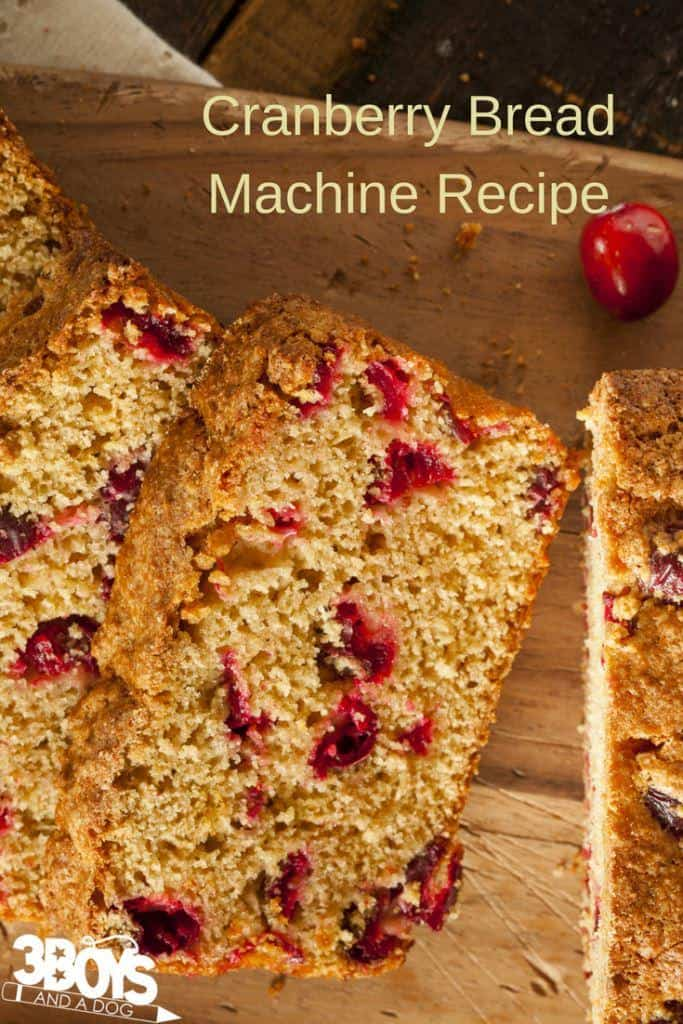 cranberry wild rice bread recipe