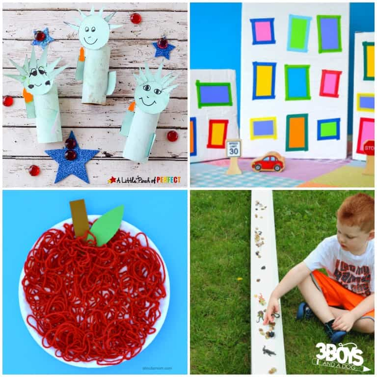 Crafts about New York for Kids - 3 Boys and a Dog