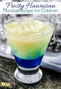 Frosty Hawaiian Mocktail