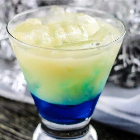 Frosty Hawaiian Mocktail Recipe for Kids