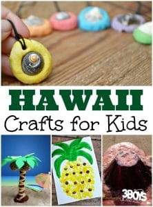 Hawaii Crafts for Kids