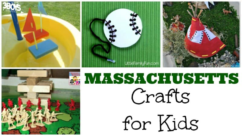 Kids' Crafts about Massachusetts