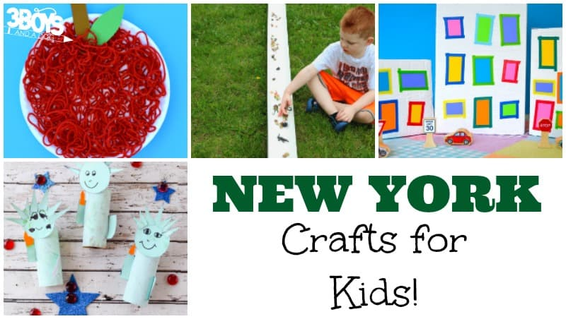 Kids' Crafts about New York - 3 Boys and a Dog