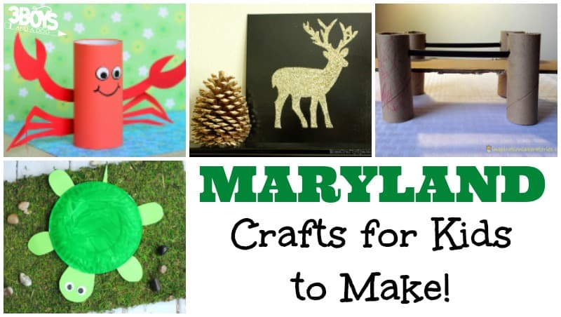 Maryland Crafts for Kids to Make
