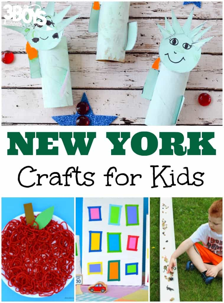 New York Crafts for Kids - 3 Boys and a Dog