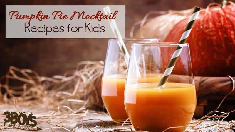 No Alcohol Pumpkin Pie Recipe