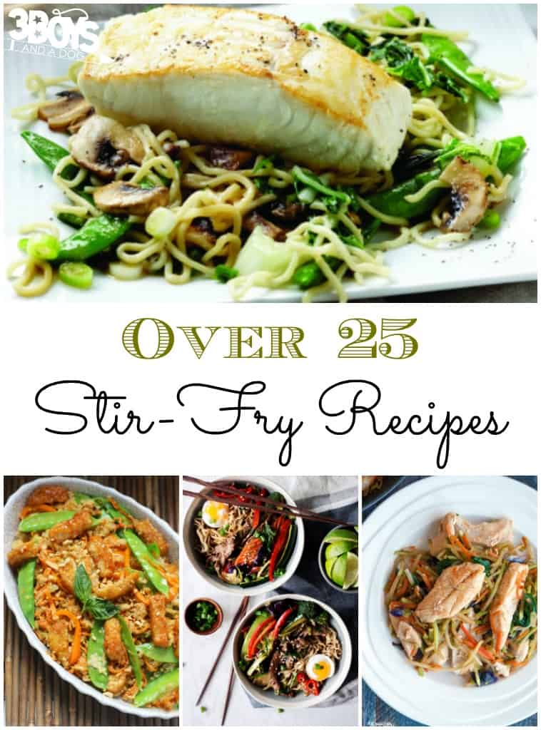 Over 25 Stir-Fry Recipes