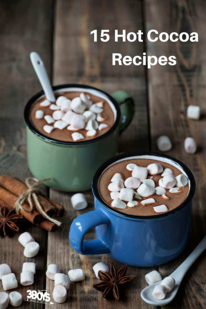 Hot Chocolate is great for nights camping as well. I mean really, now is the perfect time to be trying out new Hot Chocolate Recipes.