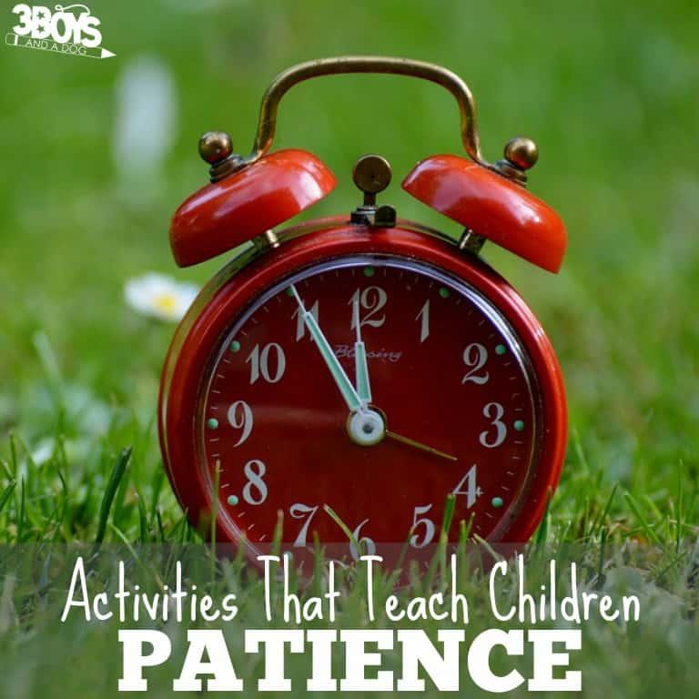 Activities That Teach Children Patience