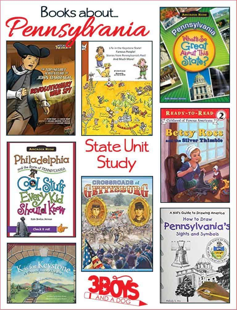Books about Pennsylvania for Kids