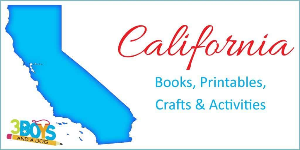 California Books Printables Crafts and More