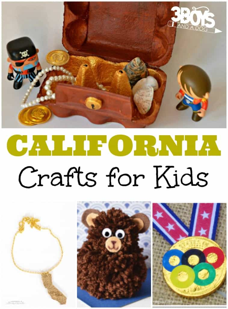 California Crafts for Kids
