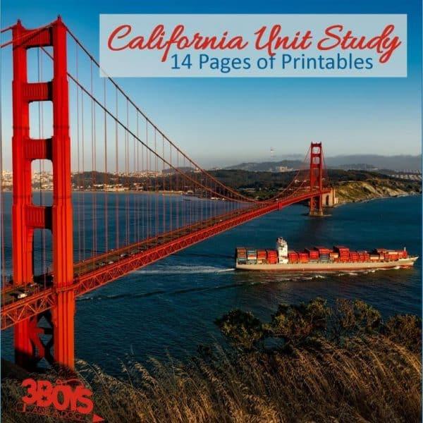 California State Unit Study.sq